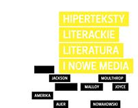 "layout & cover ""Hiperteksty literackie..."""