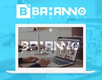 Bahanno Digital Official Website Design