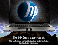 HP Store announcement email
