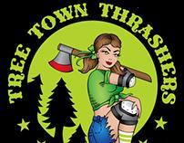 Tree Town Thrashers Logo