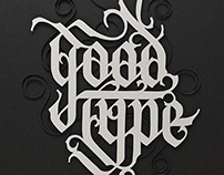 GoodType Papercut