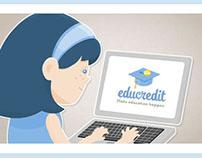 Educredit: Animated Infographic