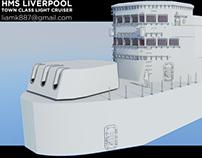 HMS LIVERPOOL (C11)