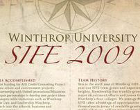 SIFE PRESENTATION PROJECT (Winthrop University)