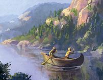 Historical Event Illustration