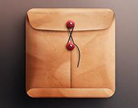 Envelope icon for IOS