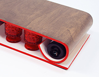 Bentwood Wine Console