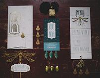 Art Nouveau Wedding Stationery