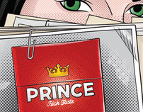 Prince cigarettes illustrations