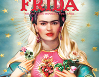 For the Love of Frida - wall calendar