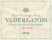 Vaderlands – Free Vintage Font