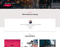 Creative Agency Wabsite Design