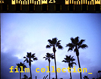 a 35mm film collection_