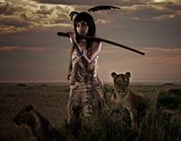 African warrior princesses