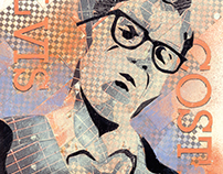 Elvis Costello Collage