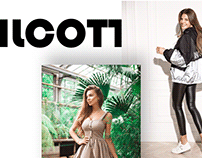 Web site for Ilcott online store