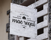 MAC REGAL Restaurant LogoType