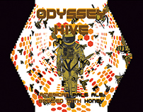 Odissey Hive Beer Label
