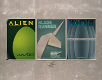 Minimalist alternative posters
