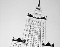 Palace of Culture and Science - Street art