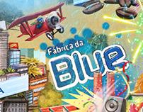 Bluelândia - Poster