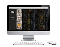 Web Design // Jackson Pollock