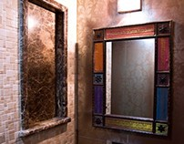 interior designers - powder room