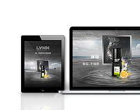 LYNX Deo Key Visual & Tmall Master Page
