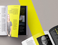 Layout | Magazine spread: Wolff Olins feature article