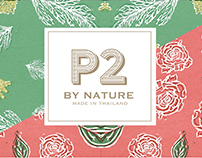 P2 by nature soap packaging design