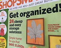 ShopSmart Magazine Layout