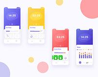 Timer App Design Concept