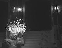 Lo-fi winter night