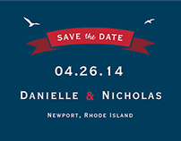 Wedding Invitation: Danielle & Nick