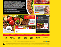Canbey Çiğ Köfte Franchise Website