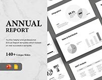 Annual Report - Presentation Template