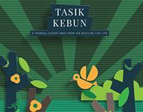 Tasik Kebun Resort - Poster Design