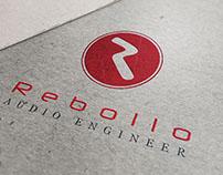 Rebollo Audio Engineer Branding / Logo design