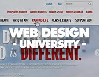 WEB DESIGN - University