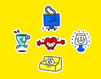 Ikea characters