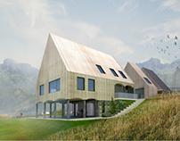 Modern upper lusatian house