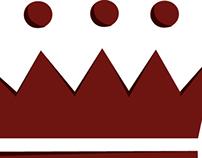Cherry Royale Logo Design layout.