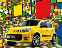 Fiat . Lego . Cubo