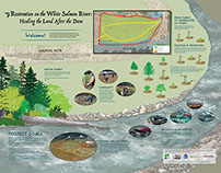 Interpretive Signs - White Salmon River Restoration