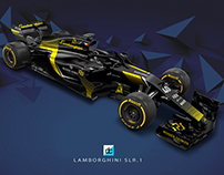 Lamborghini Racing F1 Team concept (Late Braking)