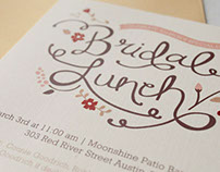Bridal Lunch Invitation