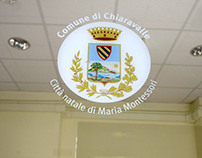 Signage system for the Municipality of Chiaravalle