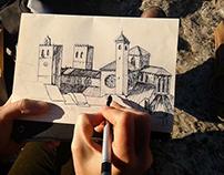 Sketching in Sigüenza