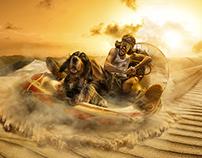 Funimals- Desert Boat