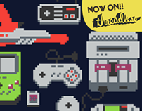 Now on Threadless - A Pixel of my Childhood